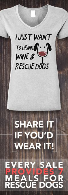 Would you wear this? Comment below!  **Every purchase feeds 7 shelter dogs!