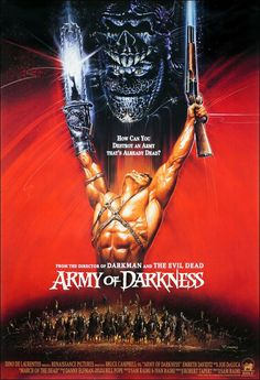 Army of Darkness Movie Poster........