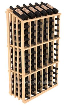 Single Reveal Half Aisle 78 Bottle | Retail Edge Series™ Wine Rack