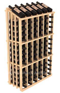 Single Reveal Half Aisle 78 Bottle | Retail Edge Series™ Wine Rack