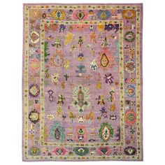 Feb 2018 - Oushak Rugs Gallery: Oushak Rug, Hand-knotted in Turkey; size: 10 feet 1 inch(es) x 13 feet 8 inch(es) Textiles, Room Rugs, Area Rugs, Stair Rugs, Rugs Usa, Carpet Colors, Red Carpet, Persian Rug, Turkish Rugs