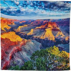 Grand Canyon Large Scenic Sunset Tapestry Large Scenic Wall Hanging... ($74) ❤ liked on Polyvore featuring home, home decor, wall art, grey, home & living, home décor, wall décor, wall hangings, grey home decor and personalized home decor