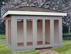 The Pavilion Garden Office { for me , my private oasis }