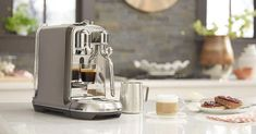 The Best Espresso Machines on Amazon, According to Hyperenthusiastic Reviewers Best Home Espresso Machine, Espresso Machine Reviews, Automatic Espresso Machine, Coffee And Espresso Maker, Espresso Drinks, Iced Coffee, Coffee Drinks, Nespresso Essenza, Latte Maker