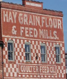 Coulter Feed Co. building (1912)