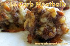 I made these Lo Carb Meatballs for the Super Bowl Party. Nobody knows that they are Lo Carb because they are full of flavor. For my Lo Carber friends, I make sure to tell them that they are Lo Carb,...