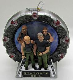 Stargate SG - 1 Ornament  Talking Sound Lights Up Carlton 2009 New  See  Video