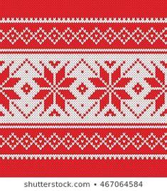 Beginner Knitting Patterns, Knitting Charts, Knitting For Beginners, Knit Patterns, Baby Knitting, Scandinavian Style, Crochet Handbags, Winter Sweaters, Easter Crafts