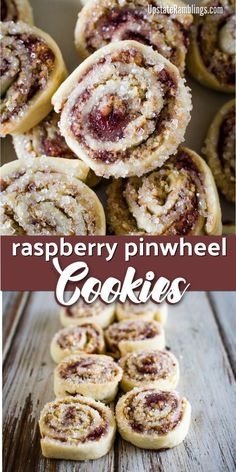 Raspberry pinwheel cookies an easy christmas pinwheel cookie recipe made by rolling up dough filled with raspberry jam and dipping the cookies in sugar cookies raspberry pistachio dessert bars Chocolate Chip Cookies, Chocolate Cookie Recipes, Peanut Butter Cookie Recipe, Sugar Cookies Recipe, Homemade Cookies, Easy Cheesecake Recipes, Cake Mix Recipes, Banana Bread Recipes, Cupcake Recipes