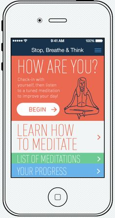 "Free Mindfulness Apps Worthy of Your Attention from Mindful Magazine. ""...this app harnesses that emotional component much more effectively by asking you to input how you feel, mentally and physically comprehensively, and then suggests a variety of meditation practices based on your response."""