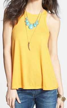 sunflower #beach tank http://rstyle.me/n/f2r6ypdpe