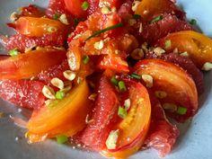 Une alliance d'été parfaite - Tomate et pamplemousse rose