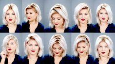 10 Easy Short HairStyles With Straightener   Milabu   Hair & Beauty ...