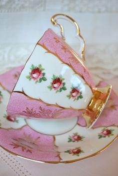 A valentine cup  Terri's beautiful tea cups  artfulaffirmations.blogspot.com