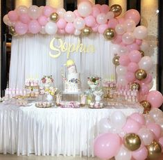 Baby shower decoration For orders or more derails dm us 💌 – fragmental-slave Girl Birthday Themes, Baby Girl Shower Themes, Girl Baby Shower Decorations, Minnie Birthday, Baby Shower Princess, Baby Girl Birthday, Birthday Parties, Pink Princess Party, Girl Baptism Party