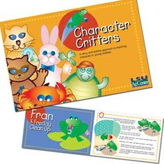 Character Critters Story Book. This sweet little book that teaches young children about good character costs $7 plus tax. Great little book for children.