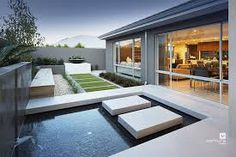 Alfresco Patio Backyard Design With Swimming Pool The Lexington Double Storey Display Home By