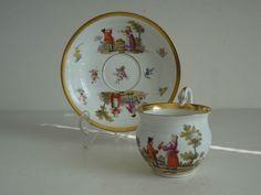 Image result for Meissen Biedermeier Swan teacup