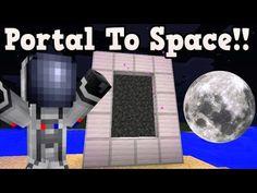 Minecraft: How To Make A Portal To Herobrine - Minecraft Portal To Herobrine! Minecraft Rocket, Minecraft Portal, Minecraft Wither, Minecraft Cheats, Minecraft Room, Amazing Minecraft, Minecraft Games, Minecraft Houses, Minecraft Crafting Recipes
