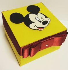 Caixinha para lembrancinha do Mickey!