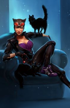 Catwoman by Amber Harris