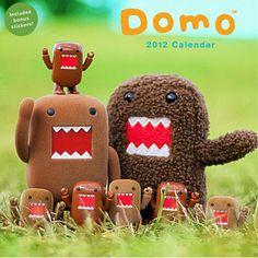 DOMO CALENDAR - ZOMG! Bonus stickers!