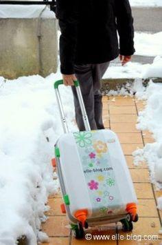 La rolls de la valise trolley : la Calibag personnalisable {reparts avec la tienne ici} - Peut-être revenez…
