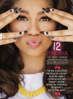 zendaya coleman 2014 | ZENDAYA COLEMAN in Seventeen Magazine, March 2014 Issue