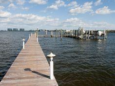 Bay Breeze's pier to boat slip