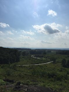 A pic of the Gettysburg battlefield in Pennsylvania