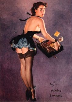 Image gallery for the vintage pinup art of Gil Elvgren (gallery 4 of Pin Up Vintage, Retro Pin Up, Pinup Art, Gil Elvgren, Estilo Pin Up, Pin Up Girls, Uñas Pin Up, Pin Pin, Fotos Pin Up