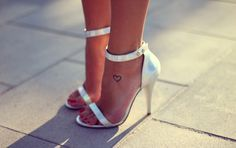 perfect pedicure, heels a little high. who cares, they are cute!