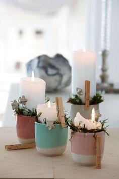 Annonce: Kalenderlys og adventshygge er faste juletraditioner, der forsøder ventetiden for alle. Se her, hvor let du kan lave et flot julelandskab med kalenderlys eller en nem adventskrans i smukke pastelfarver. Find alle materialerne hos Søstrene Grene.