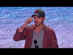 Ashton Kutcher Speech - Teen Choice Awards (HQ) - YouTube
