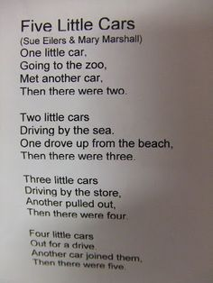 Cachey Mama's World of Learning: Study about Cars