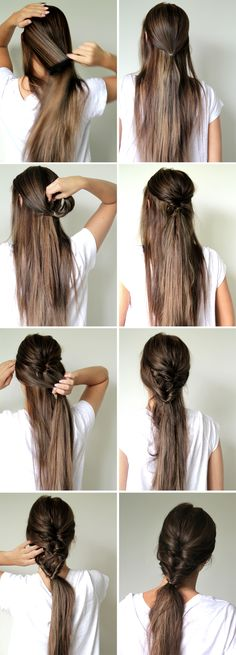 A SIMPLE PRETTY HAIRDO | Frida Grahn