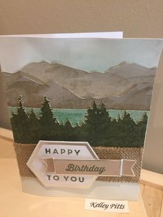 Stampin Up! May 2018 Manly Moments Paper Pumpkin kit alternative