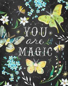 Art Magique, Daisy Art, Acrylic Artwork, Magic Art, Flyer, Illustrations, Canvas Prints, Art Prints, Artsy