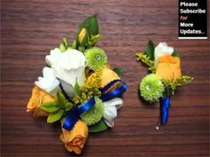 Image result for corsage for a navy blue dress