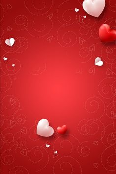 Valentines Day Border, Valentines Day Background, Valentine Day Love, Red Background Images, Flower Background Wallpaper, Heart Wallpaper, Love Wallpapers Romantic, Cute Wallpapers, Happy Birthday Flower