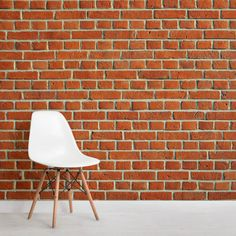 Add a homely and rustic theme to your space with this red brick wall mural, a bespoke brick effect design that will impress. Brick Wallpaper Mural, Room Wallpaper, Brick Bedroom, Red Brick Walls, Brick Texture, Red Bricks, My Dream Home, Wall Murals, Interior Decorating