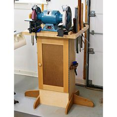 Sharpening Station Woodworking Plan, Shop Project Plan | WOOD Store