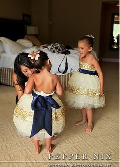 in love with these dresses for the flower girls