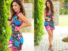 Blog Monalisa de Batom - Moikana #colorful #jumpsuit #ootd #lookdodia