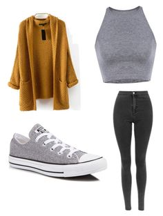 """""""Casual"""" by georginalopez-gl ❤ liked on Polyvore featuring Converse"""