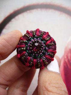Crochet Rings, Textiles, Finger, Swarovski, Etsy, Earrings, Inspiration, Jewellery, Anklets