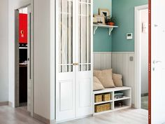 Alfombra resistente y lavable Ideas Recibidor, Hall Furniture, Furniture Ideas, Small Entrance, Interior Design Living Room, Tall Cabinet Storage, Sweet Home, Entryway, House Design