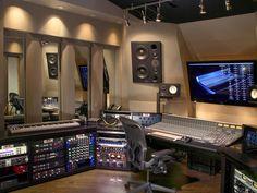 #JoeDonRooney's Recording Studio >> http://www.frontdoor.com/photos/tour-rascal-flatts-guitarist-joe-don-rooneys-tennessee-home?soc=pinterest