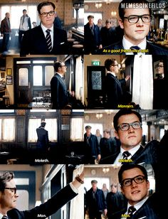 GIPHY is how you search, share, discover, and create GIFs. Kingsman Cast, Kingsman Harry, Eggsy Kingsman, Kingsman Movie, Taron Egerton Kingsman, Man From Uncle Movie, The Man From Uncle, Rocketman Movie, Colin Firth