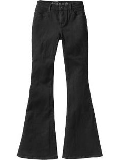 Best black flare jeans for a sick price (esp in stores if you can find them). Love that I don't have to hem... Love the flare look right now with flats.